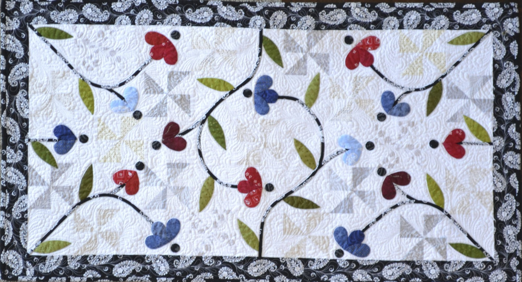 Sunday Best Table Runner Pattern