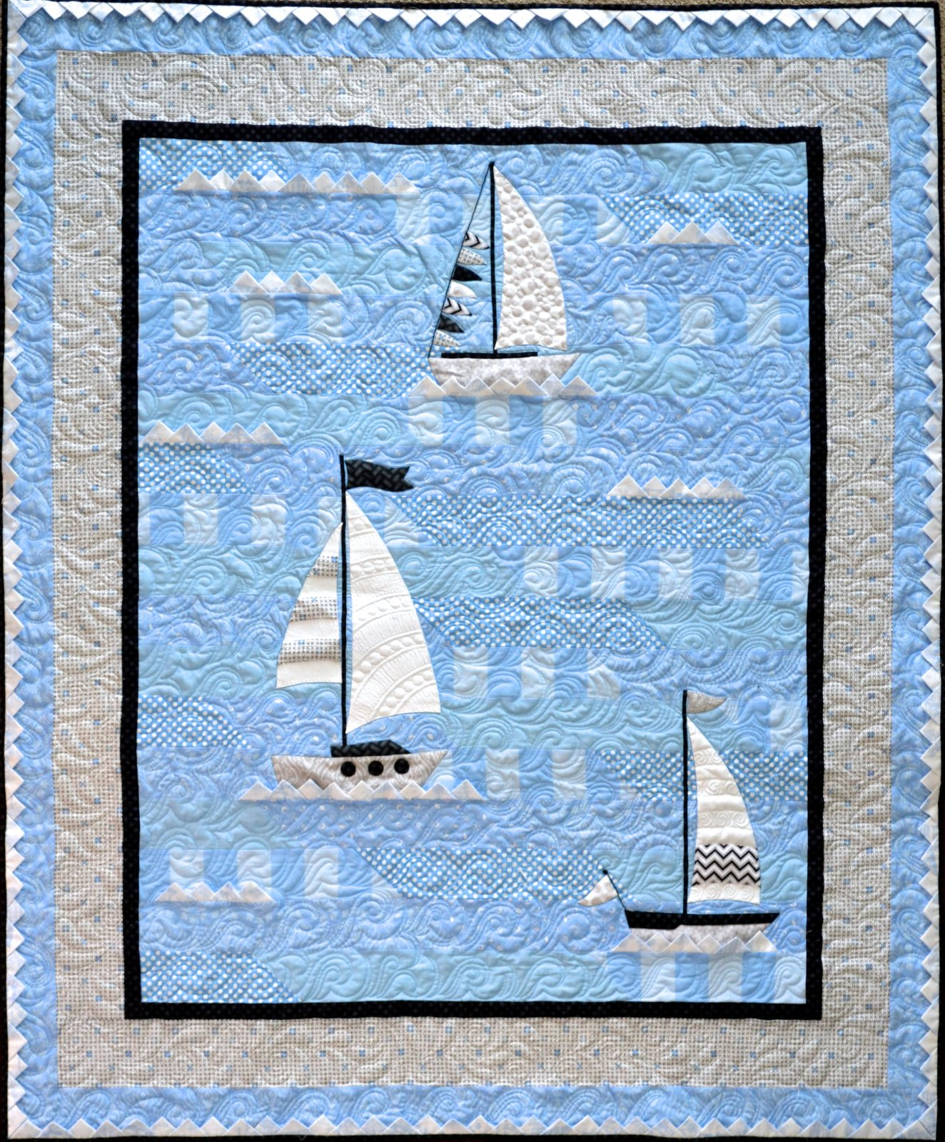 Ahoy Again! Quilt Kit