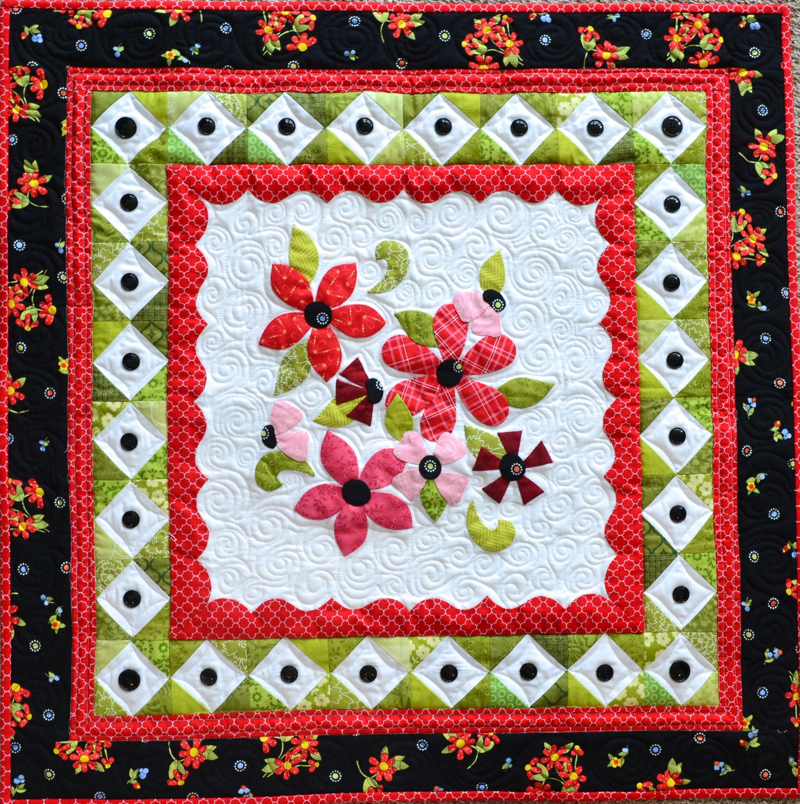 Bunches of Blooms Pattern