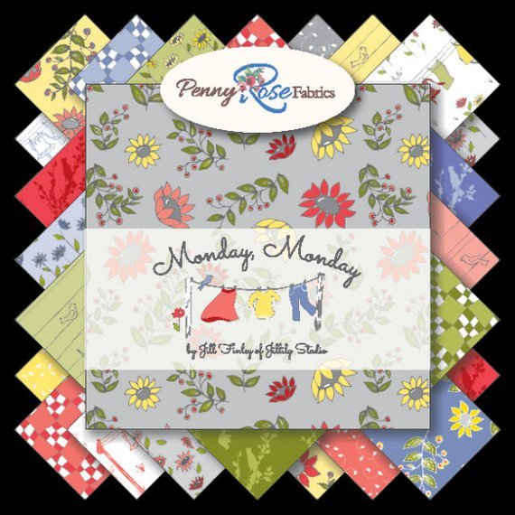 Fat Quarter Bundle - Monday, Monday