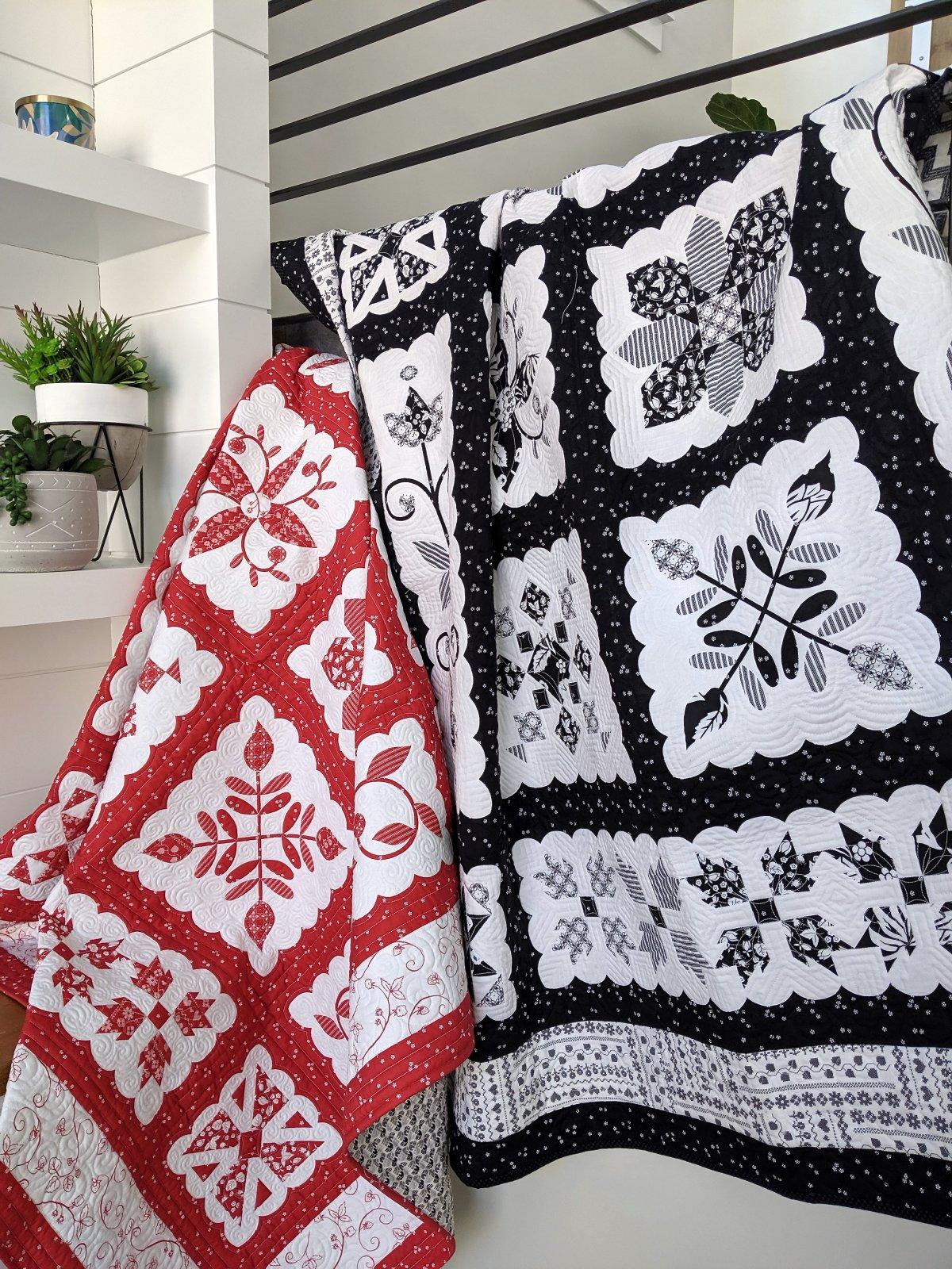 Swiss Miss Quilt Pattern  - 2 Colorways!