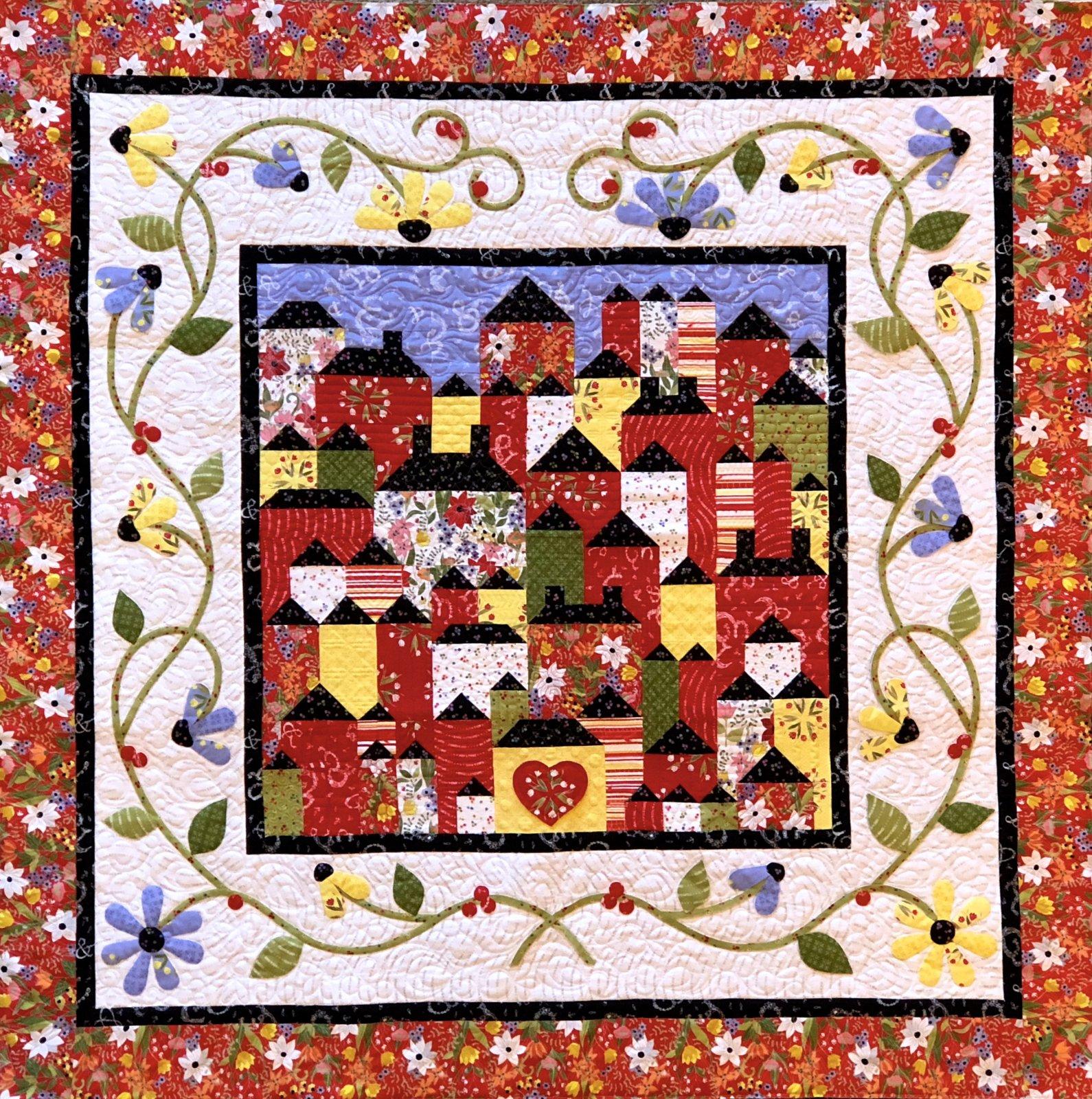 Hillside Hamlet Pattern