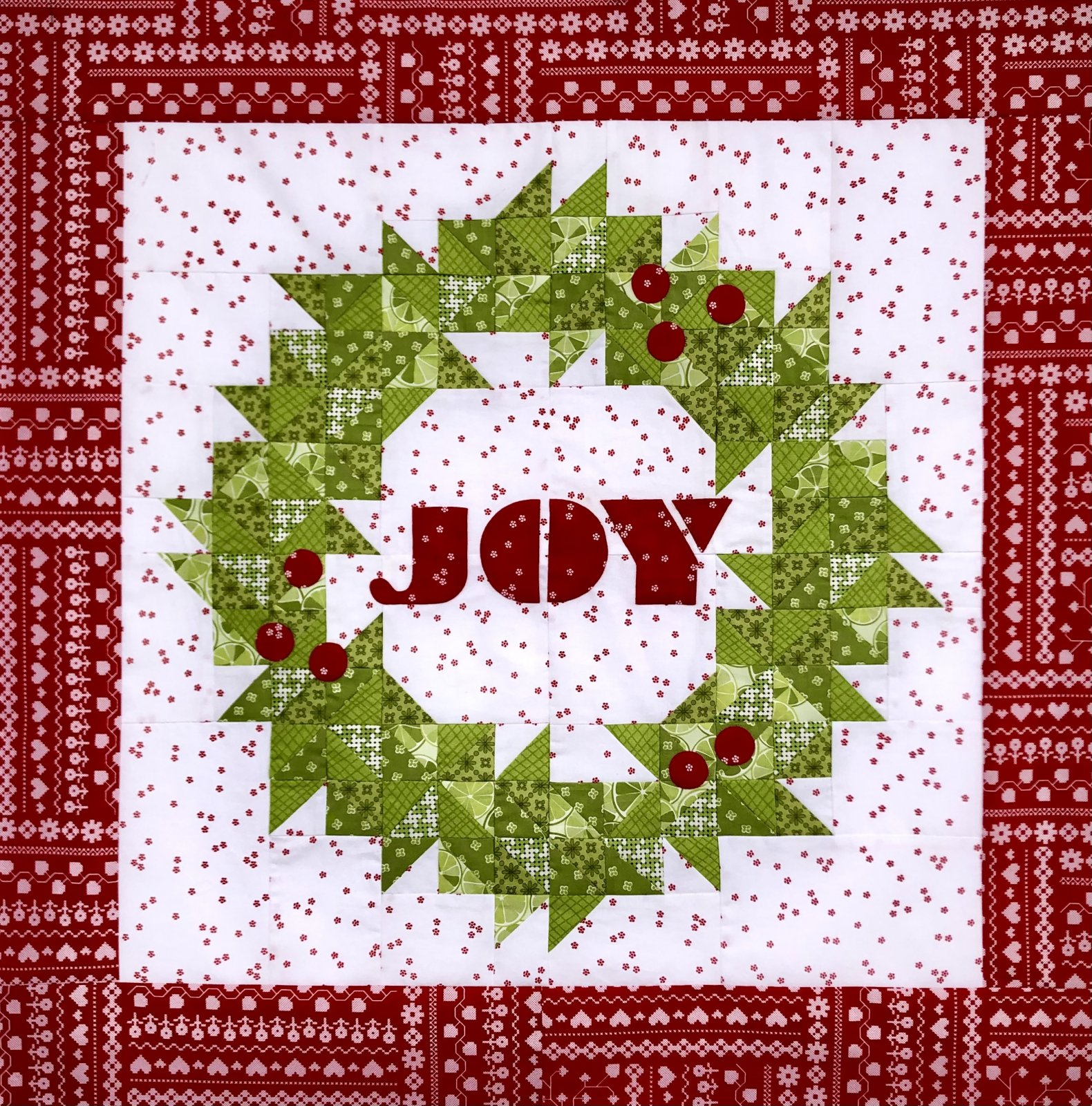Joy Wreath Kit