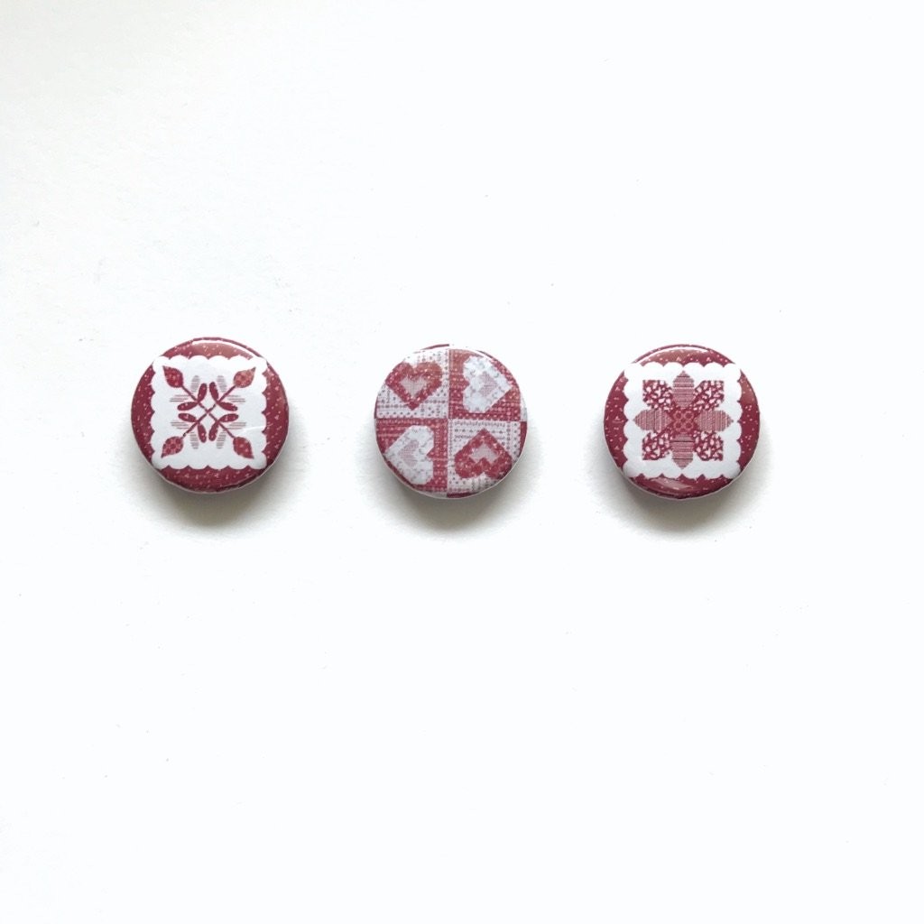Red #5 Collection (Set of 3)