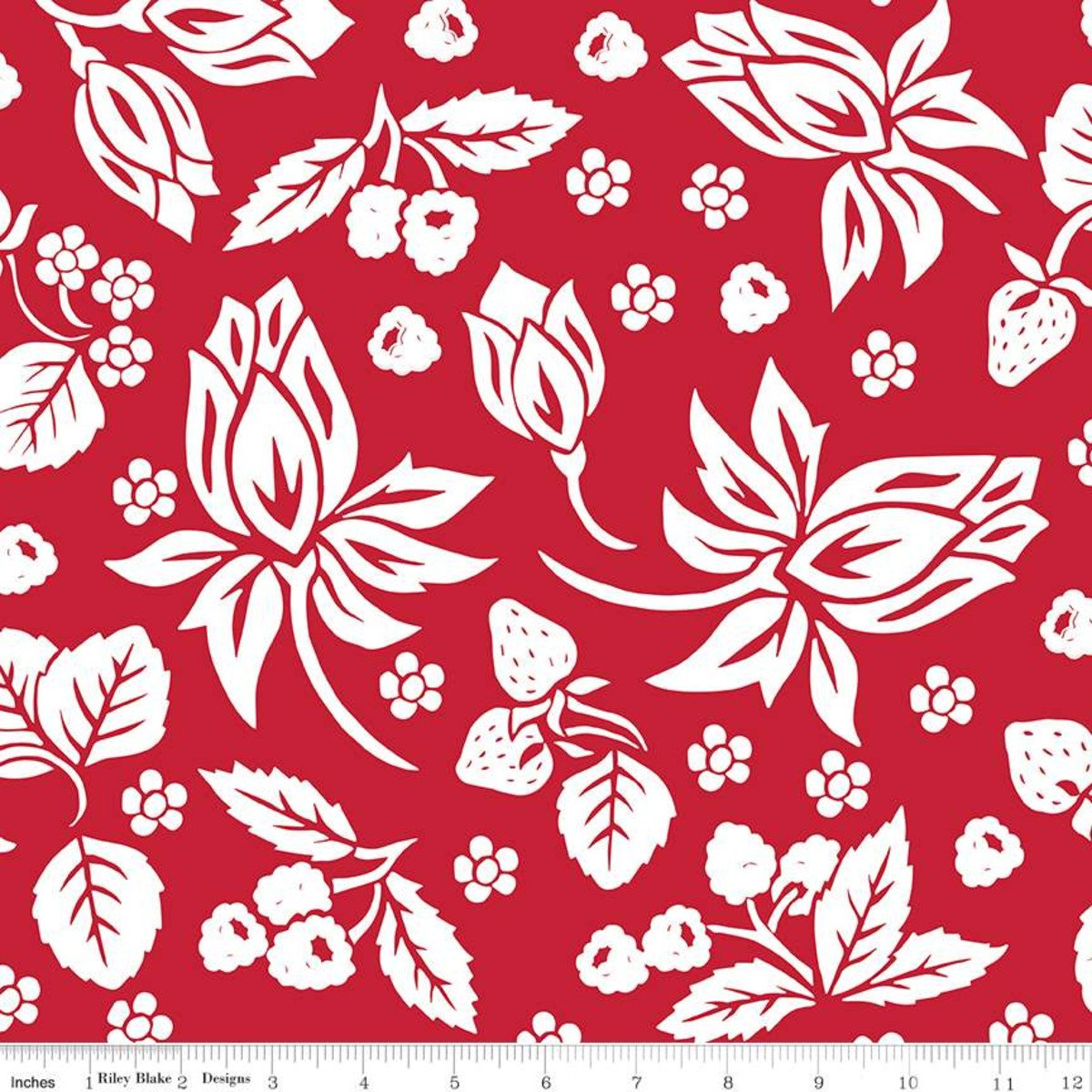 It's the Berries Red Main Print