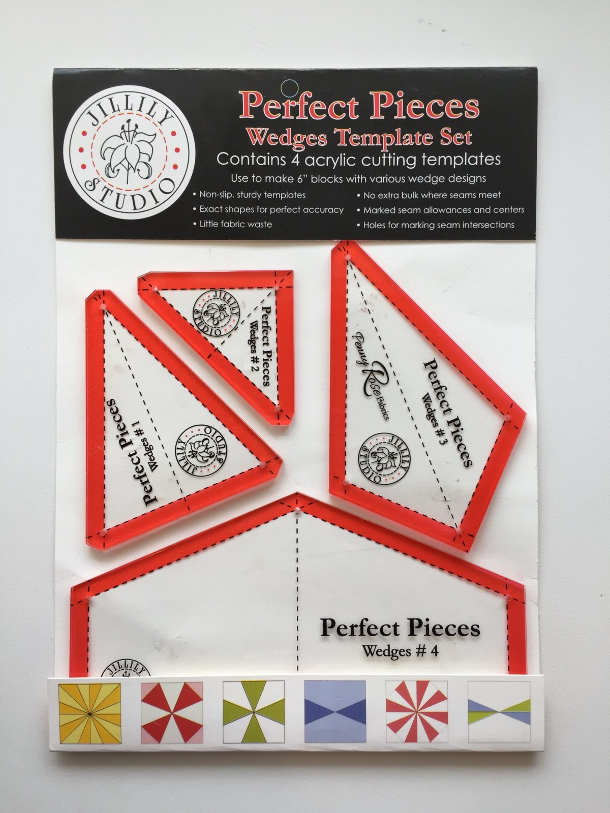 Perfect Pieces Wedges Template Set