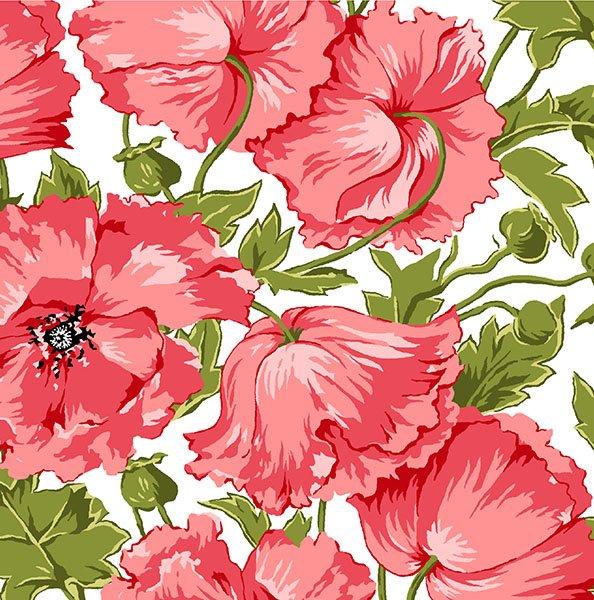 Poppy Patio Pink Poppy Floral