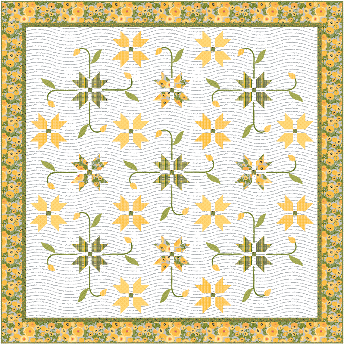 PREORDER Meadowland Quilt Kit - Two Colorways!