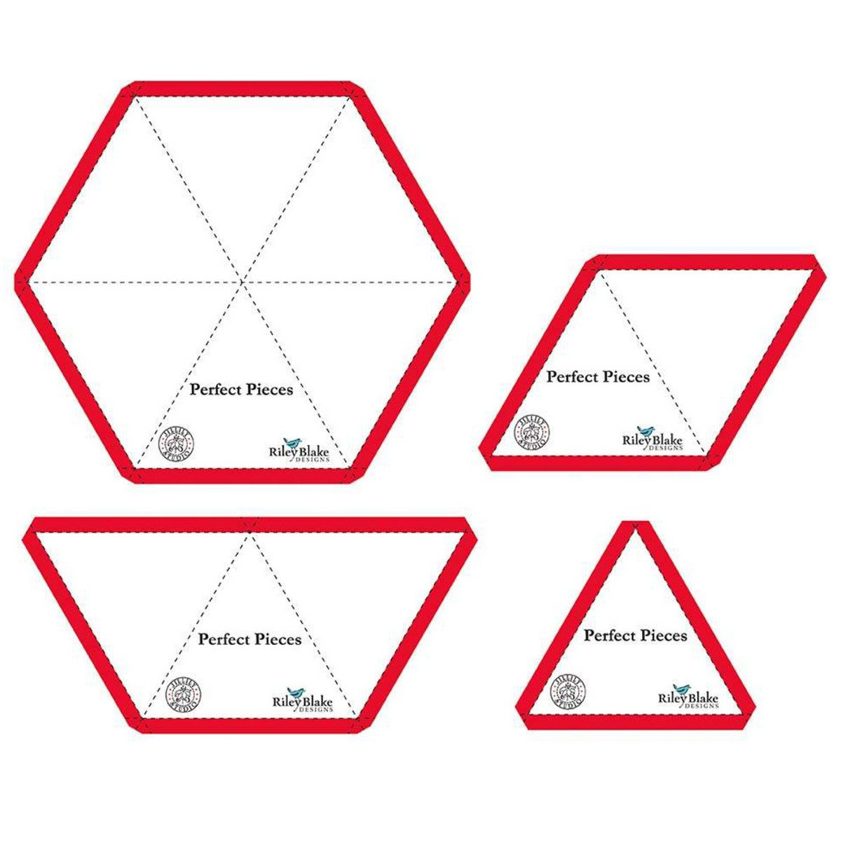 Perfect Pieces Hex Angle Template Set