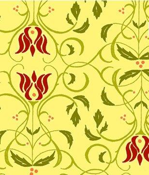 Sorbet Garden Yellow Damask