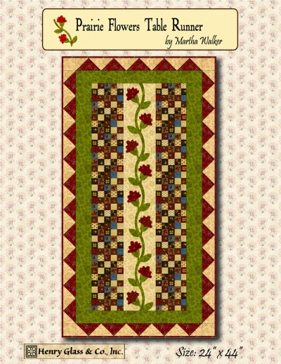 Prairie Flowers Table Runner