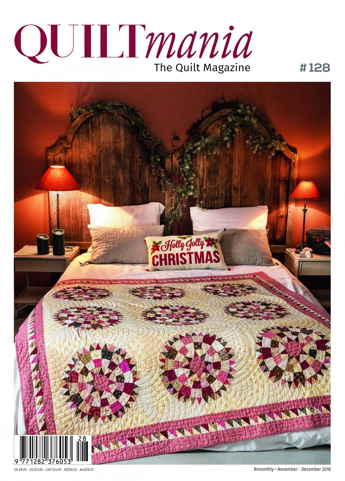 Quiltmania #128 Nov./Dec. 2018