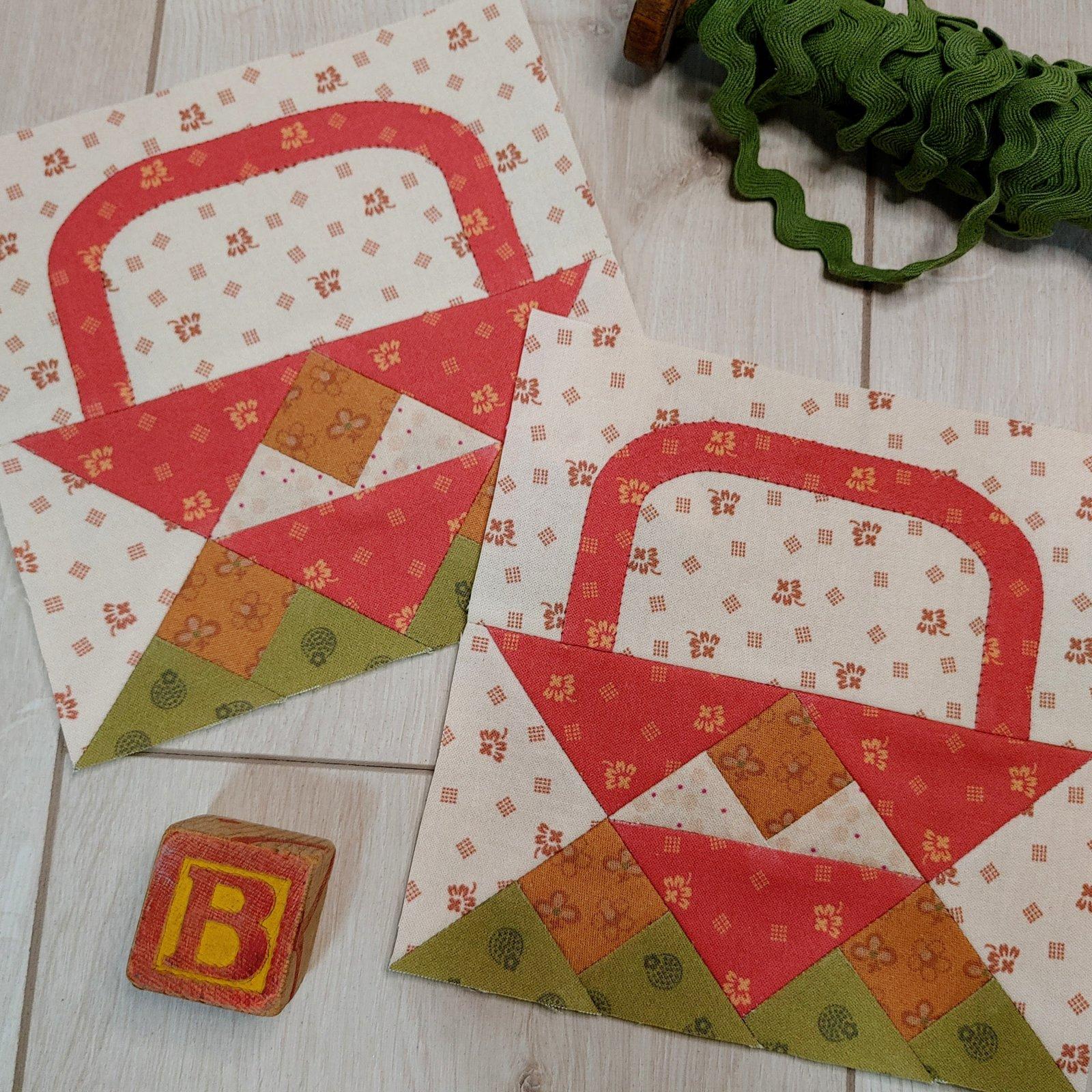 Prairie Patchwork Quilt Along Block B