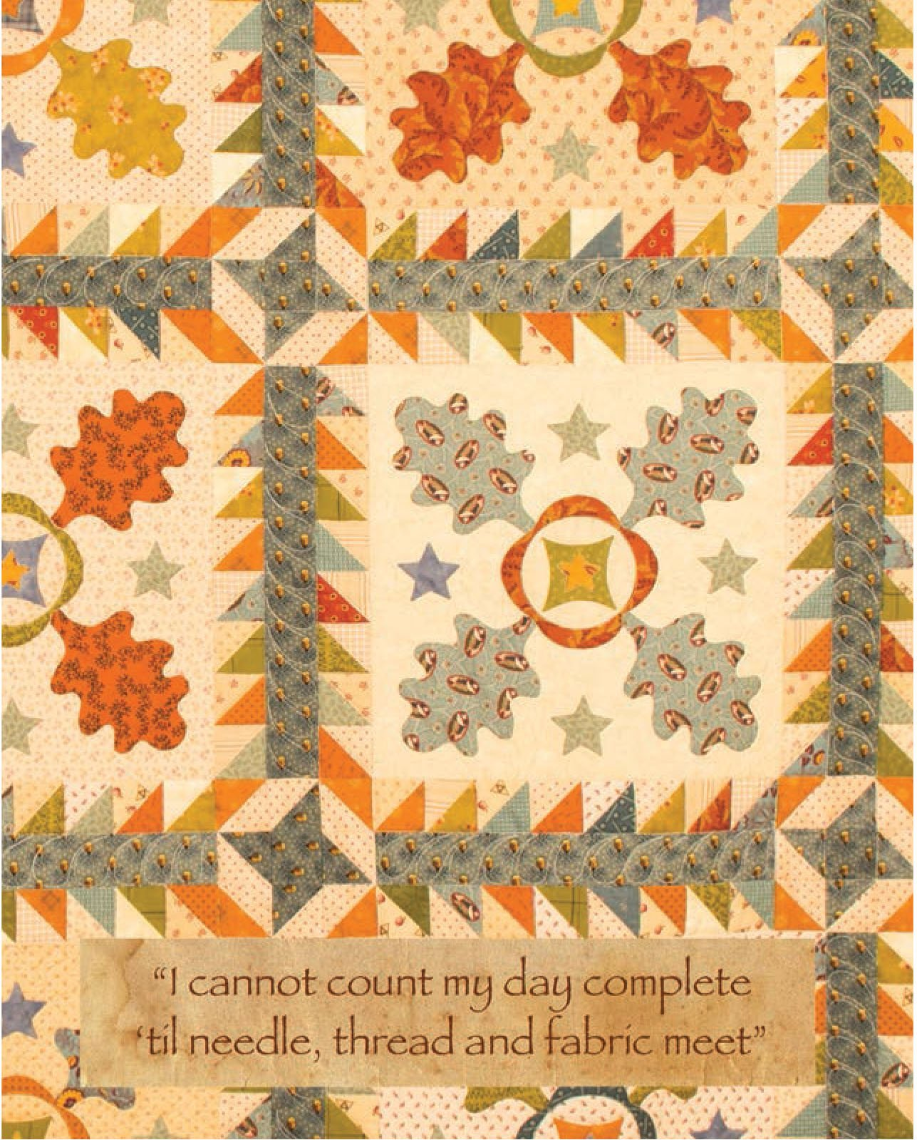 Autumn Stars mini notebook
