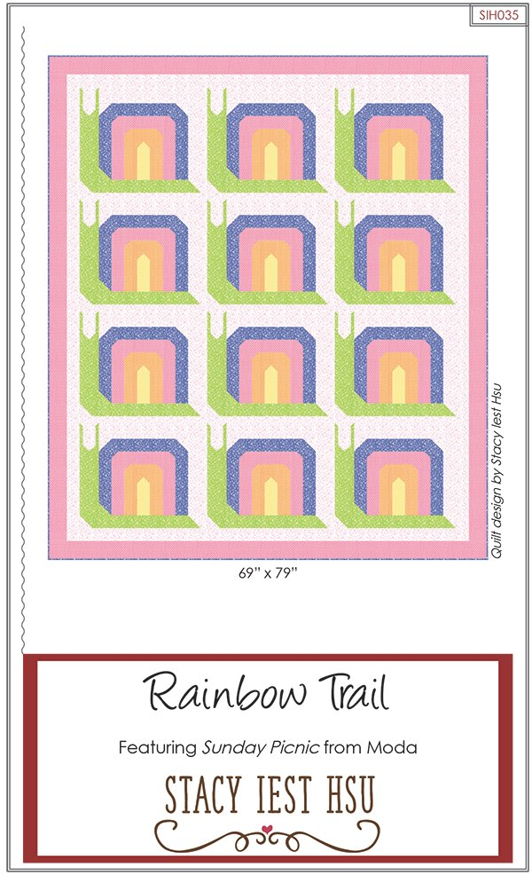 Rainbow Trail Quilt Pattern