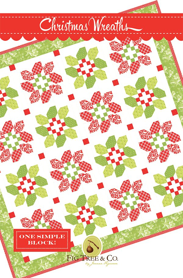 Christmas Wreath Pattern by Fig Tree