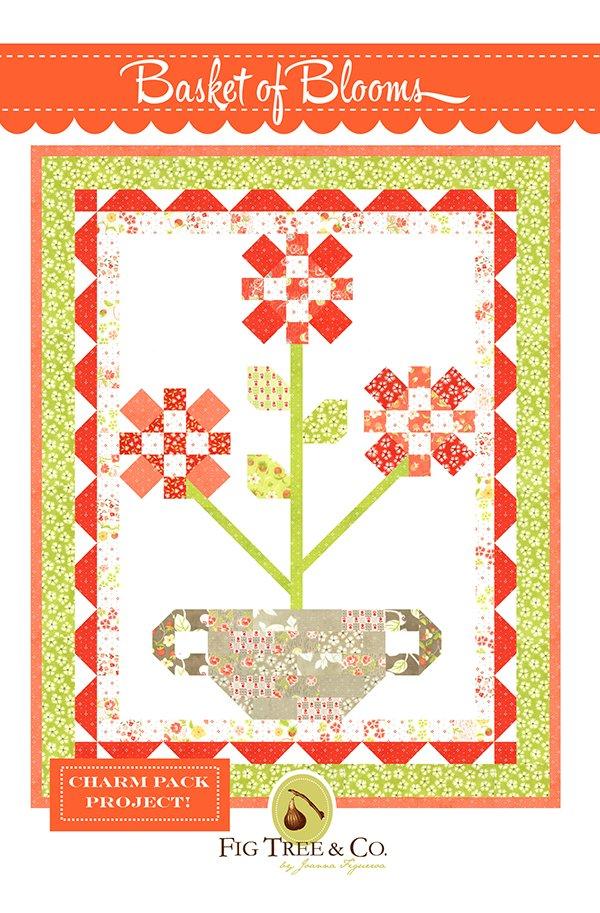 Basket of Blooms Fig Tree Quilt Pattern