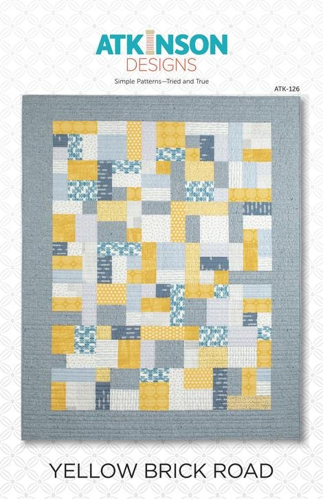 Yellow Brick Road Pattern - Atkinson Designs