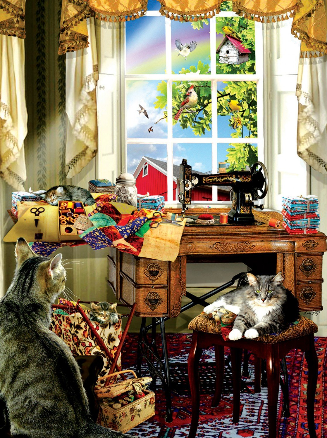 The Sewing Room Puzzle