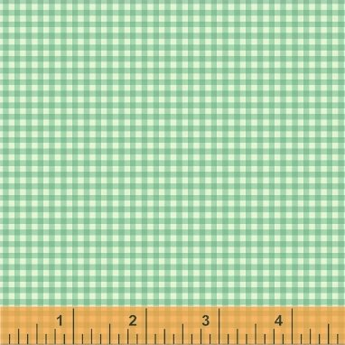 Trixie Gingham by Heather Ross 50900-8 Aqua