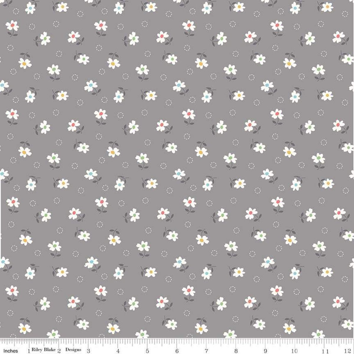 Farm Girl Vintage Daisy Gray C7877-GRAY