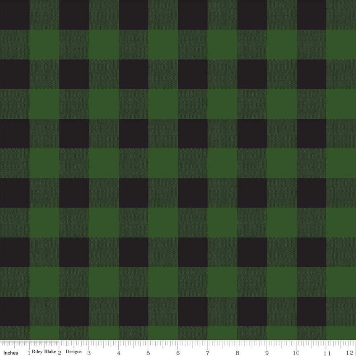 Gone Camping Plaid Green