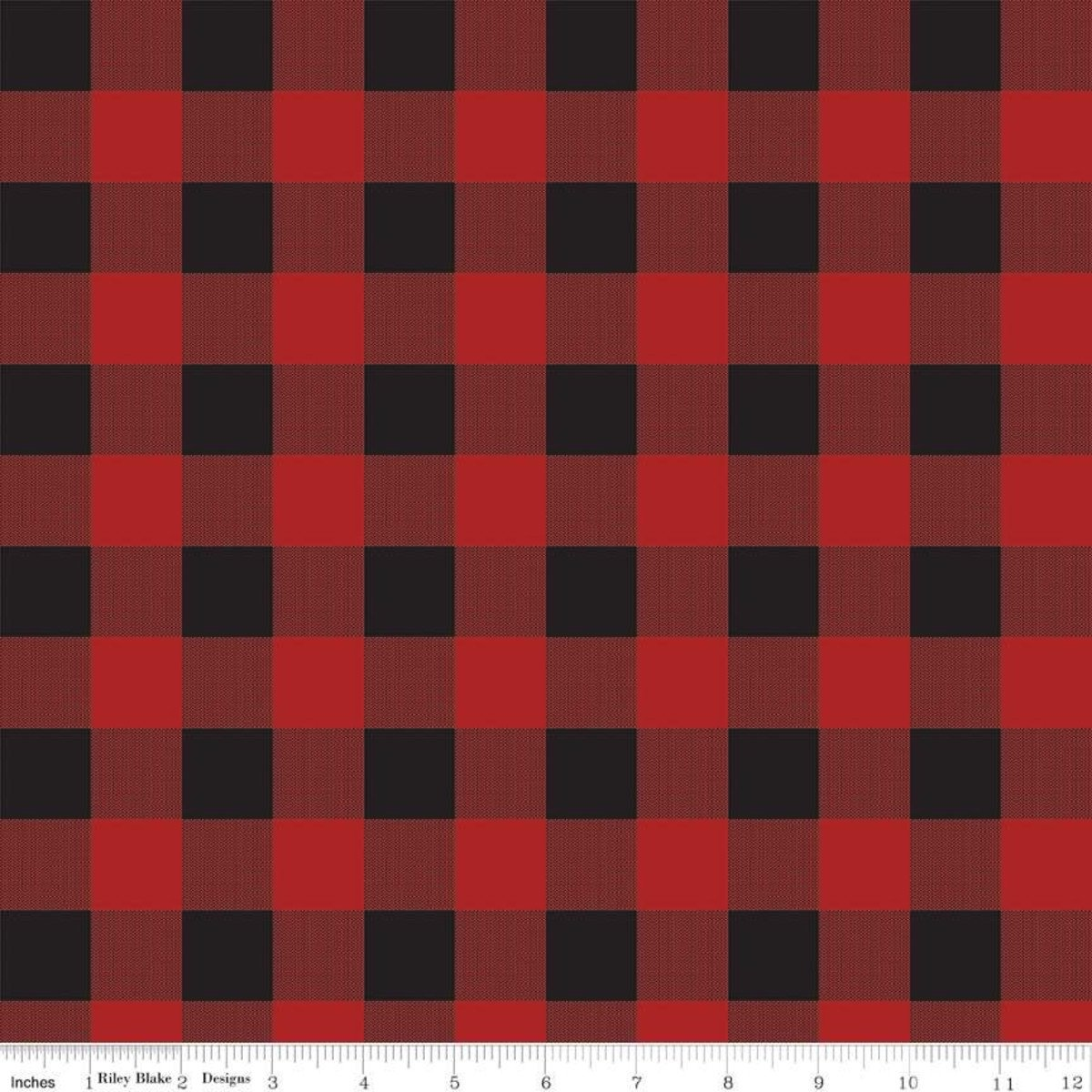 Gone Camping Plaid Red