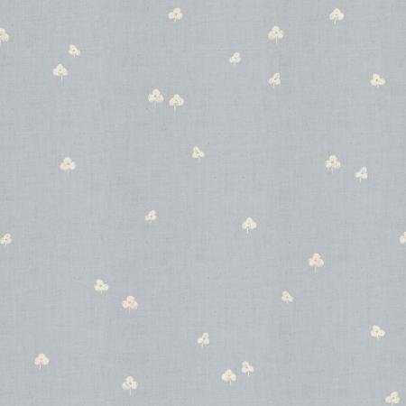 CS105-NA1U Cotton+Steel Basics - Clover and Over - Narwhal Unbleached Fabric