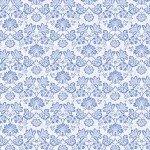 Limoncello CX9253-Blue-D La Fleur Michael Miller