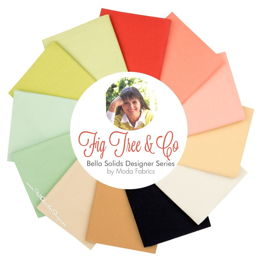 Fig Tree & Co. Bella Solids Fat-Quarter Bundle