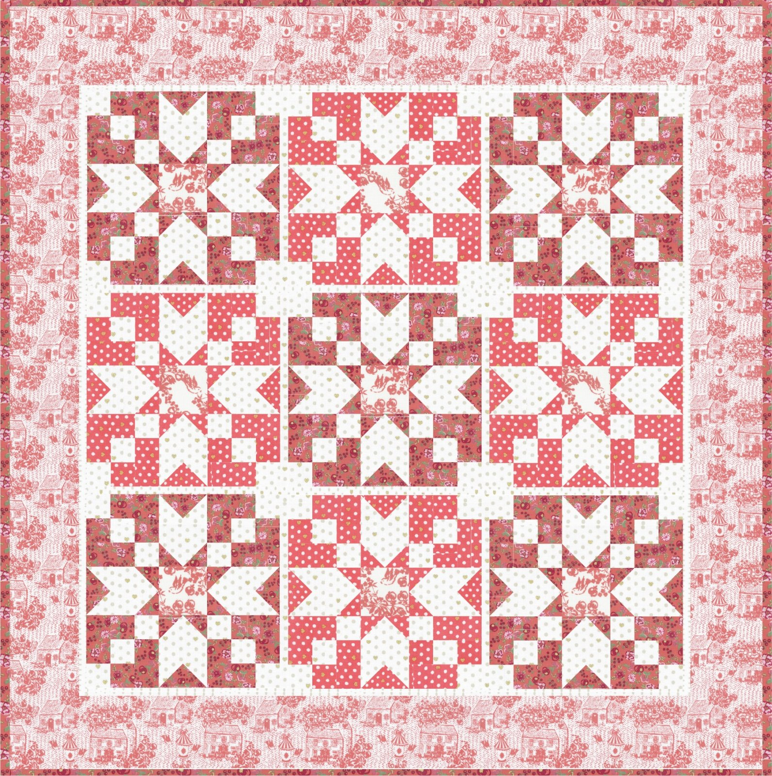 Loyal Heights Star Quilt