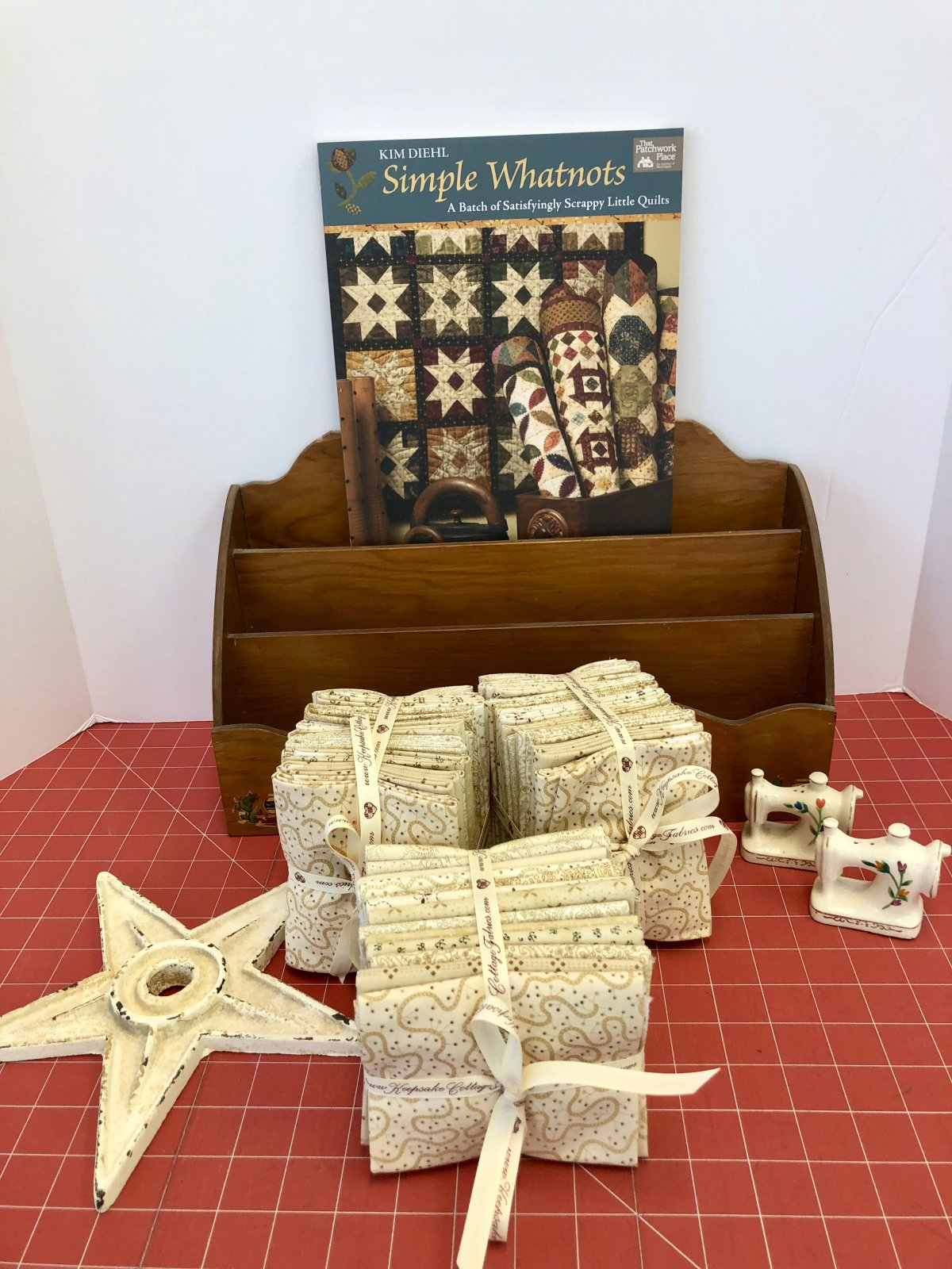 Butter Churn Basics Fat Quarter Bundle by Kim Diehl