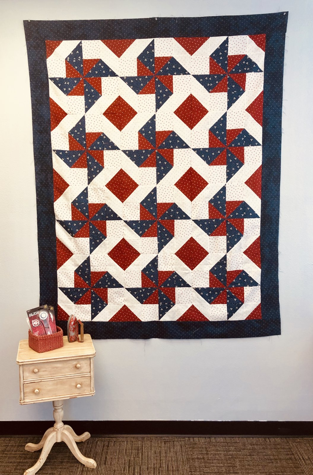 Summer Windmills Quilt Kit