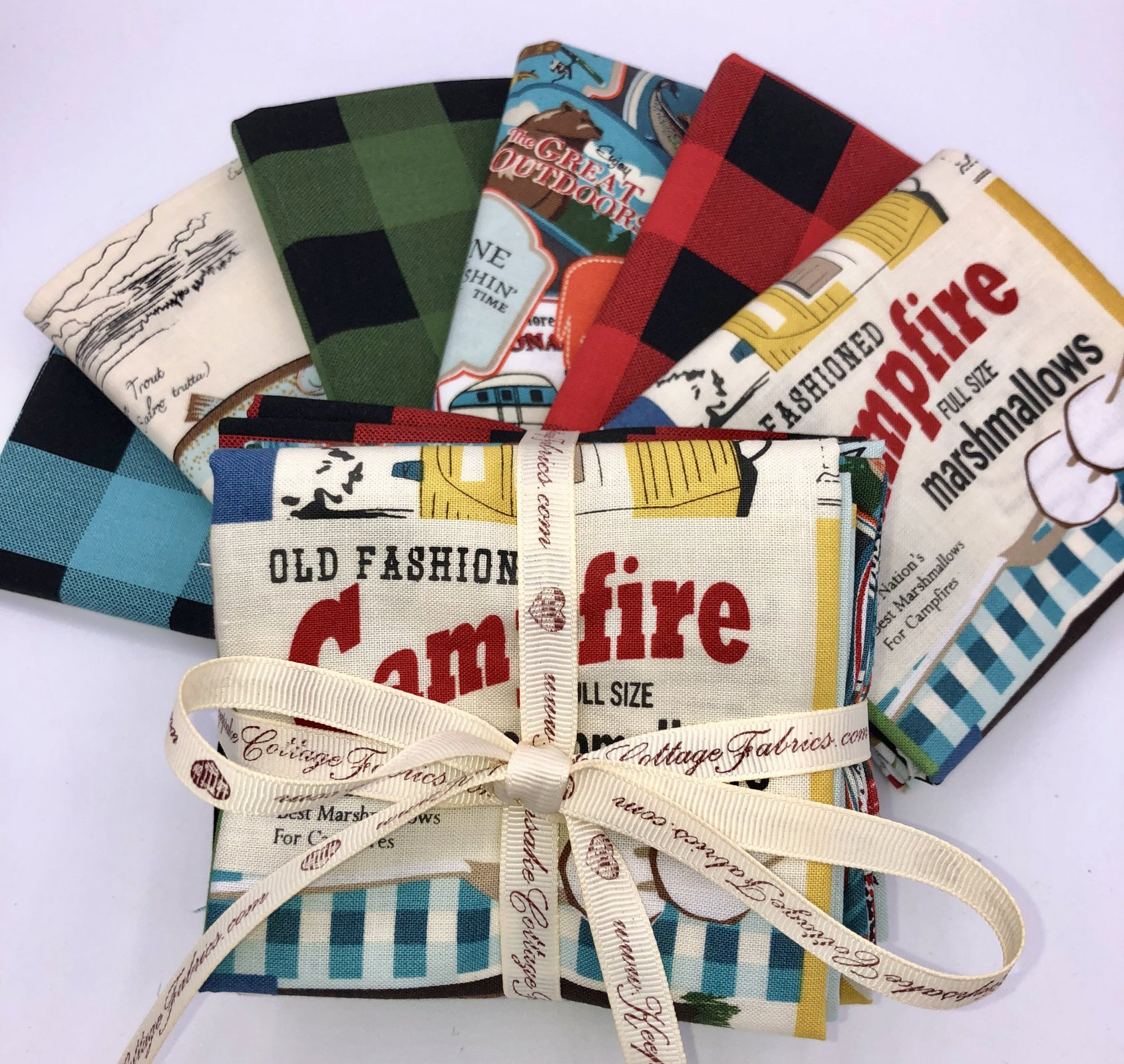 Gone Camping Fat Quarter Bundle by Riley Blake