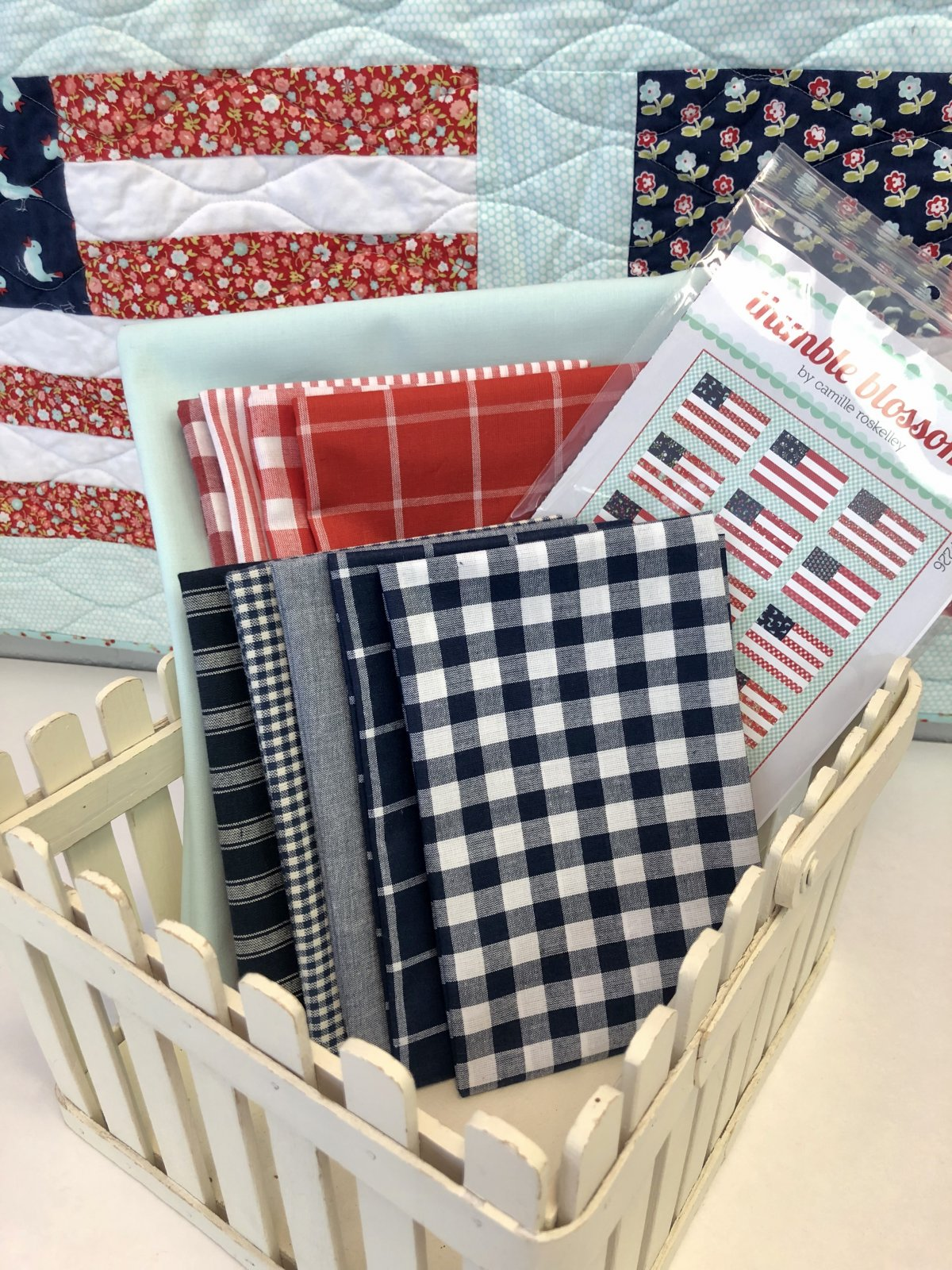 Stars and Stripes Quilt Kit