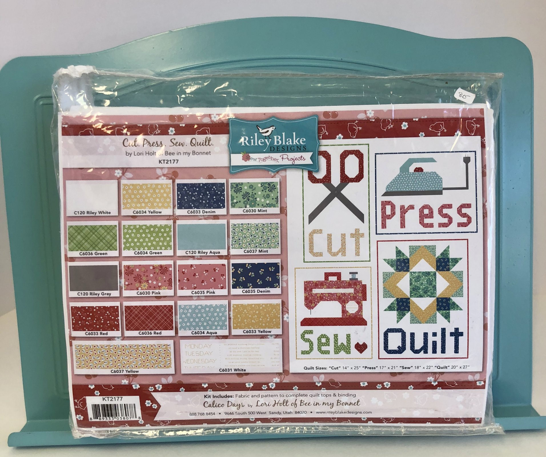 Cut, Press, Sew, Quilt Kit