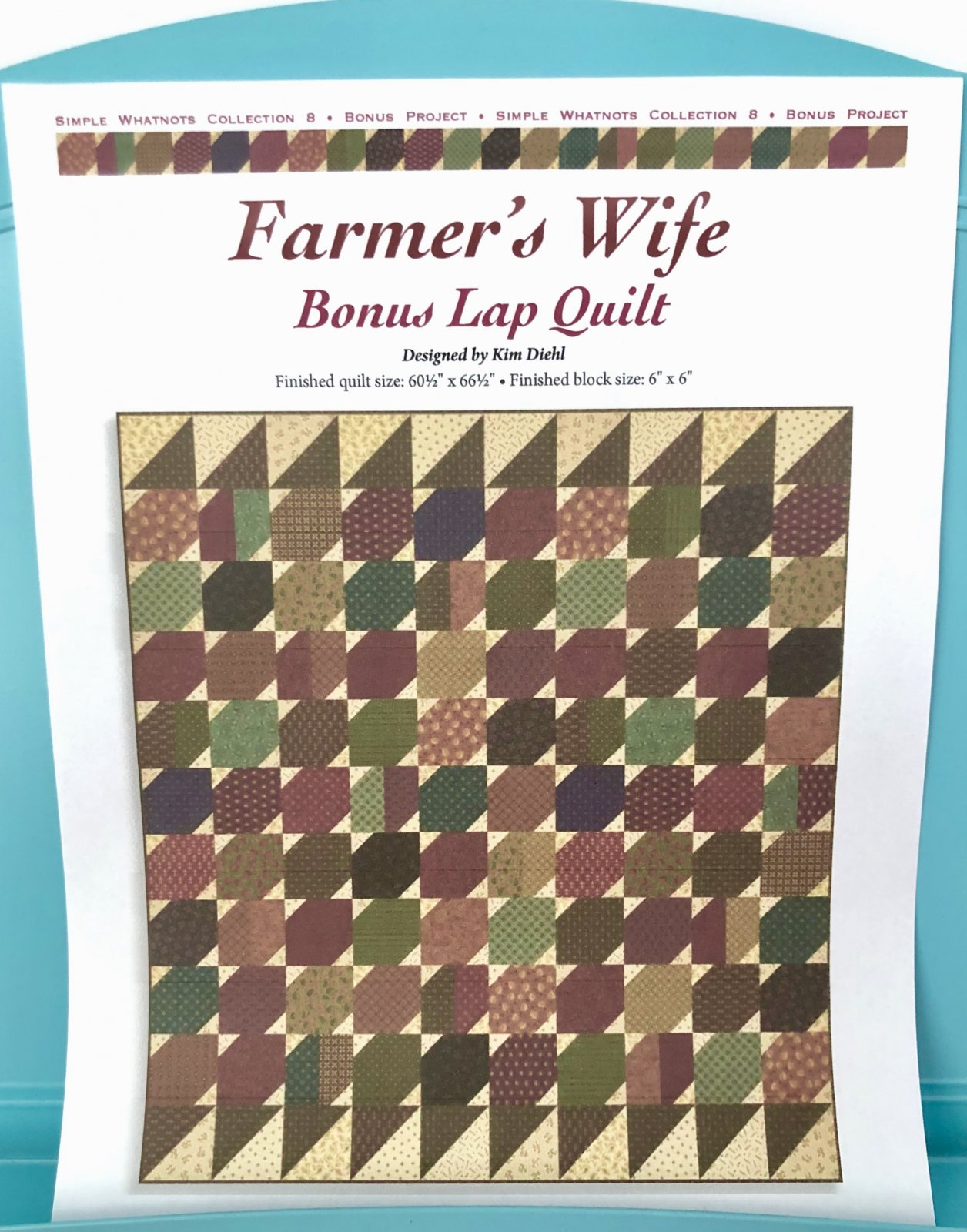 Farmer's Wife Quilt Kit