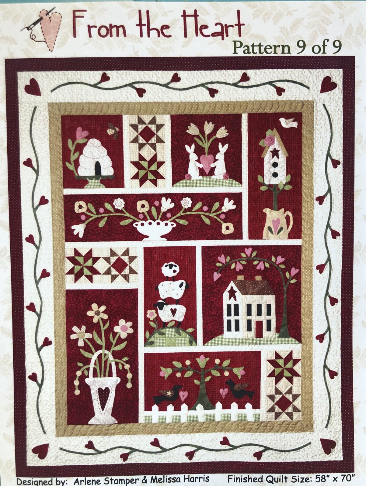 From The Heart Quilt Kit
