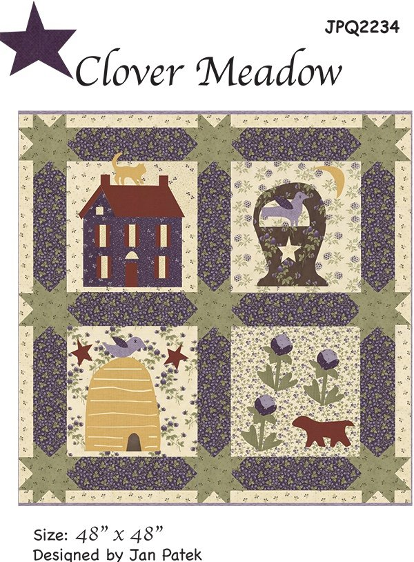 Clover Meadow Wall Quilt