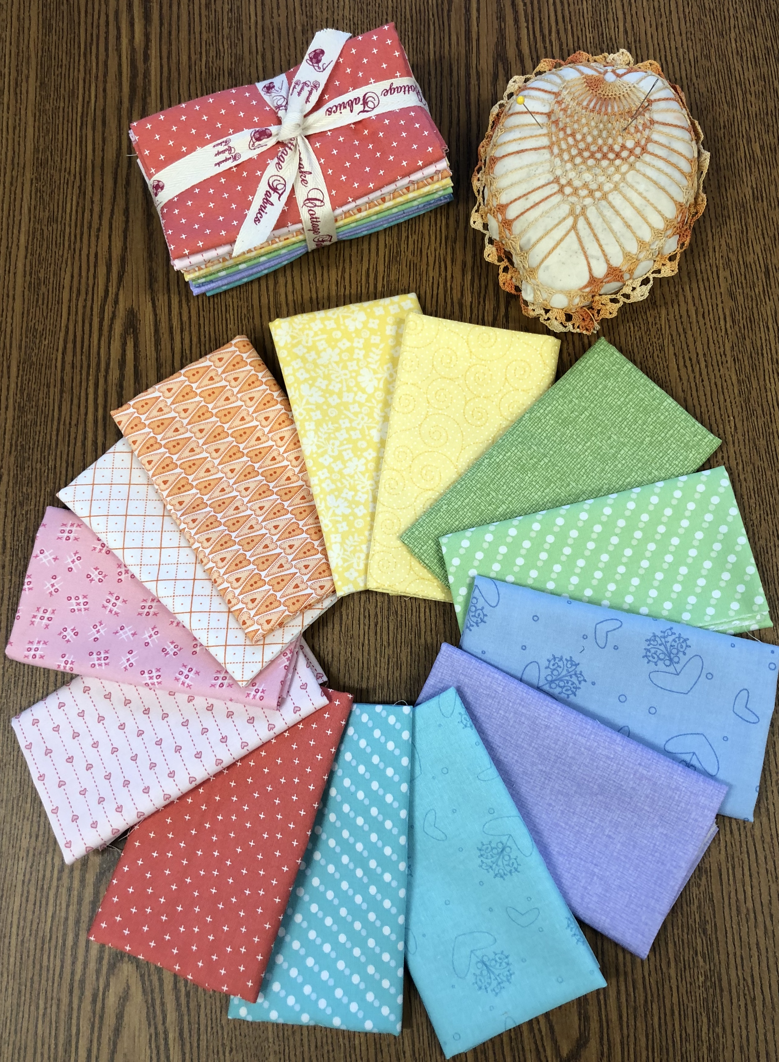 Stitch Therapy 365 - A Stitch Along with Helen Stubbings Fabric Packet