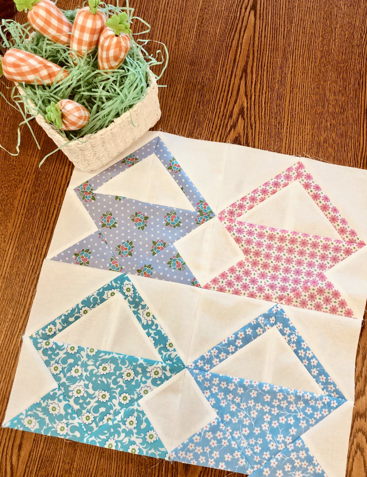 April Monthly Mini Quit Free Pattern