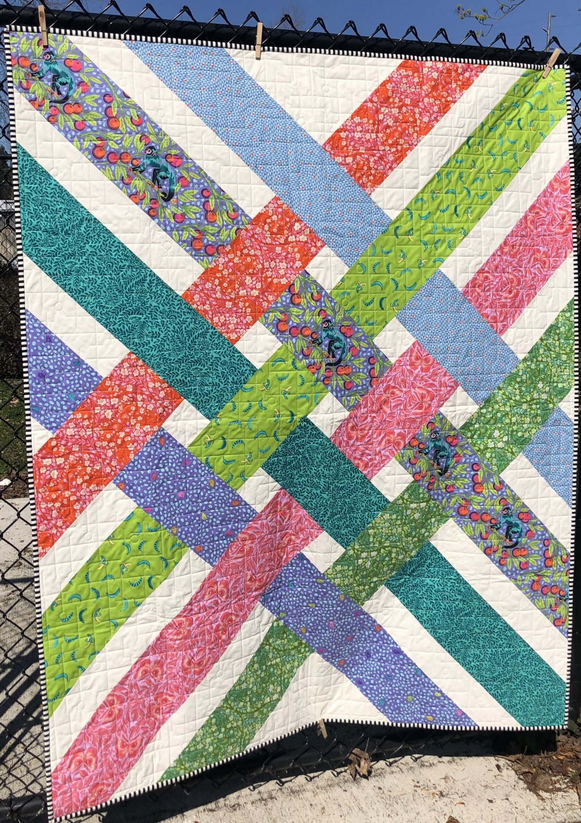 Libby Monkey Wrench Quilt Kit
