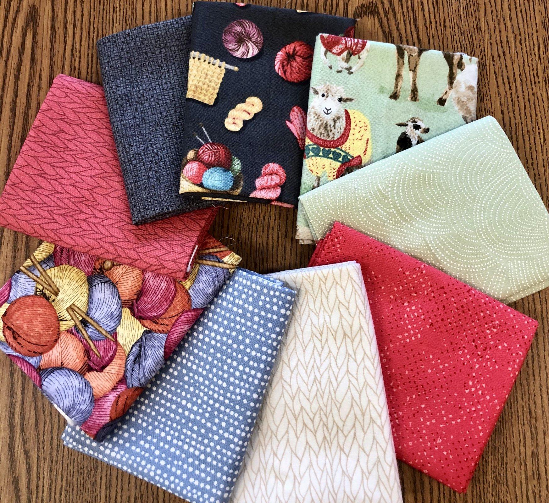 Knit N Purl Fat Quarter Bundle