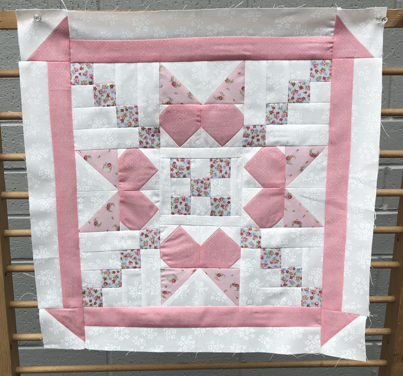 June Monthly Mini Quilt Free Pattern
