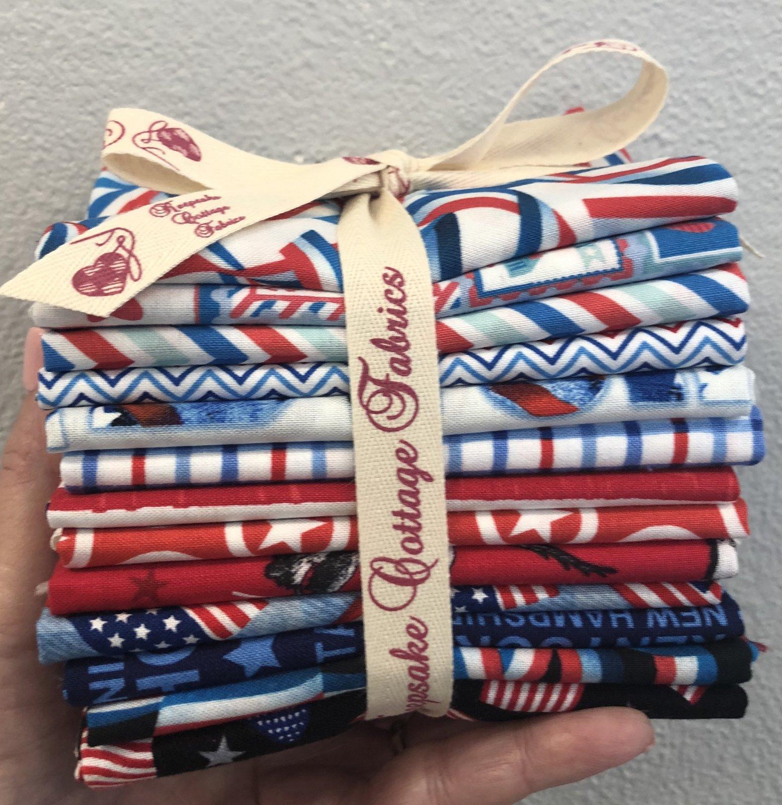 Fat Quarter Friday Patriotic Bundle