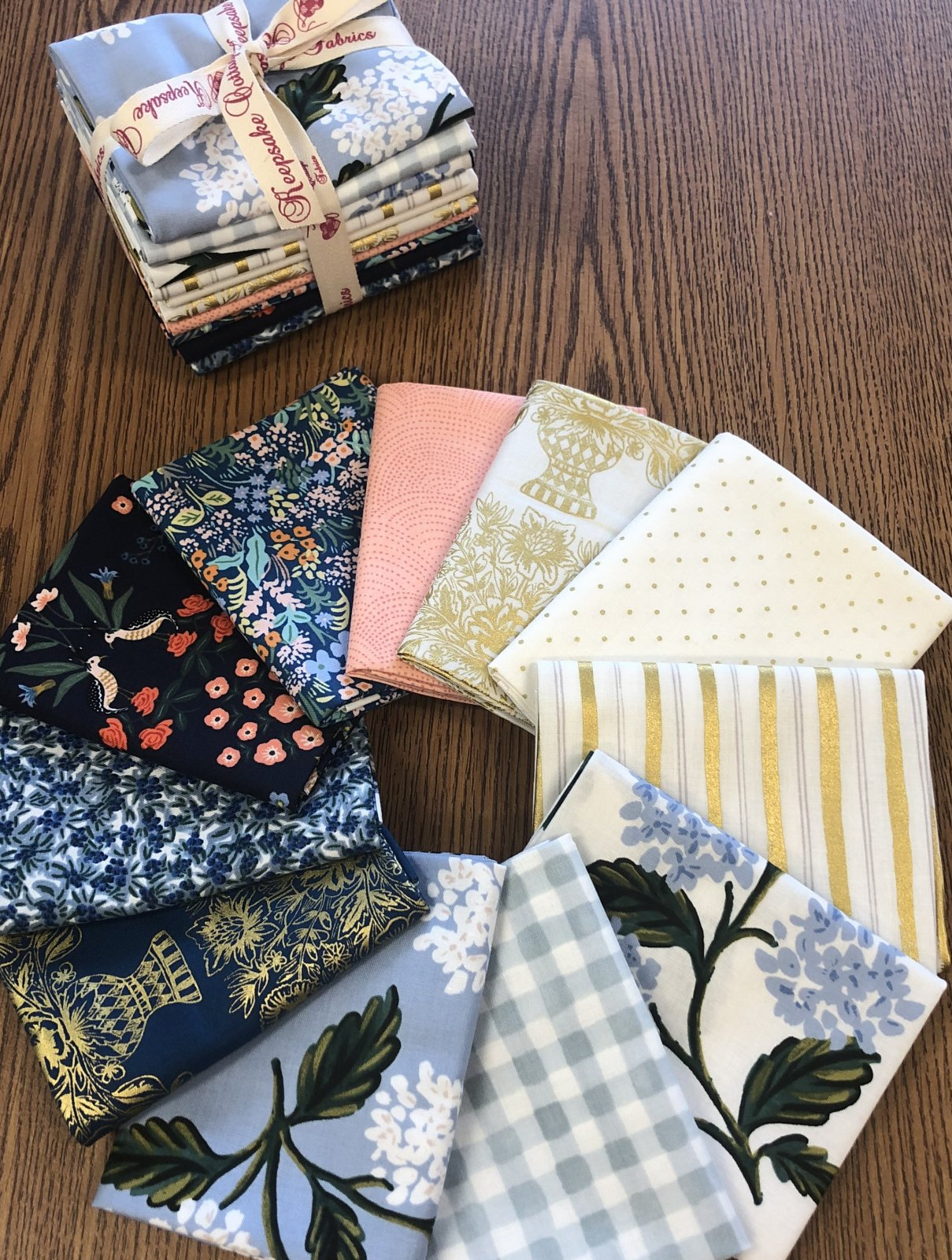 Blue Meadow Fat Quarter Bundle