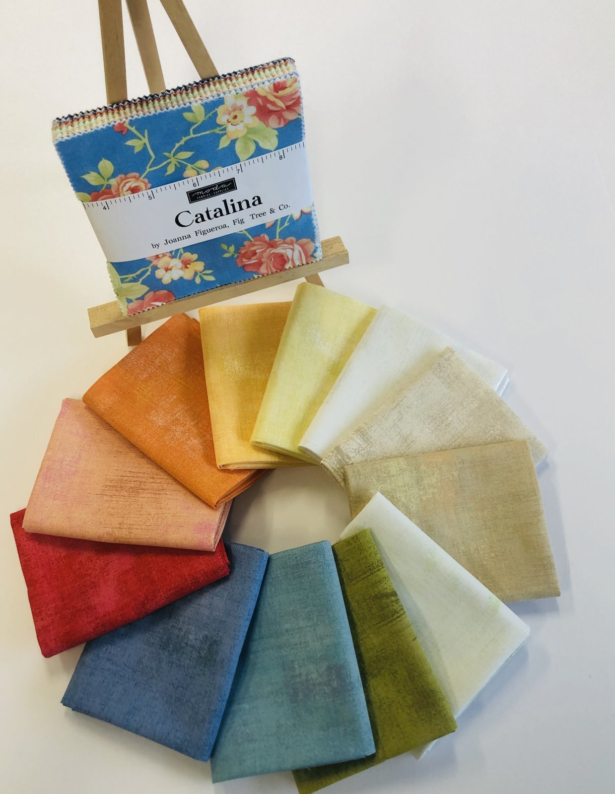 Grunge Fat Quarters to go with Catalina
