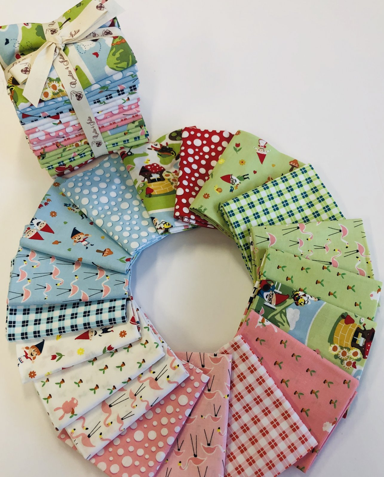 Gnome and Gardens Fat Quarter Bundle