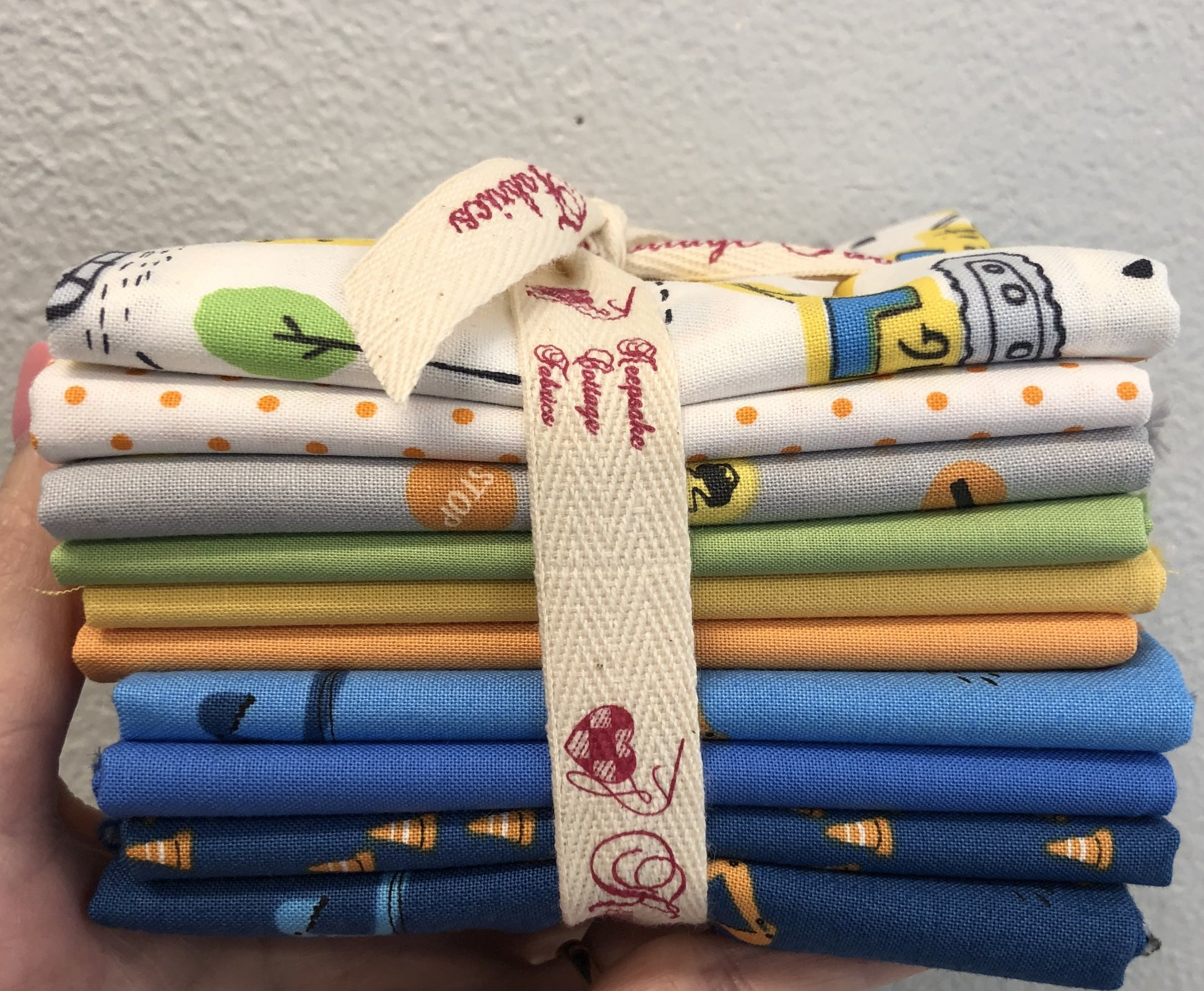 Digger Fat Quarter Bundle