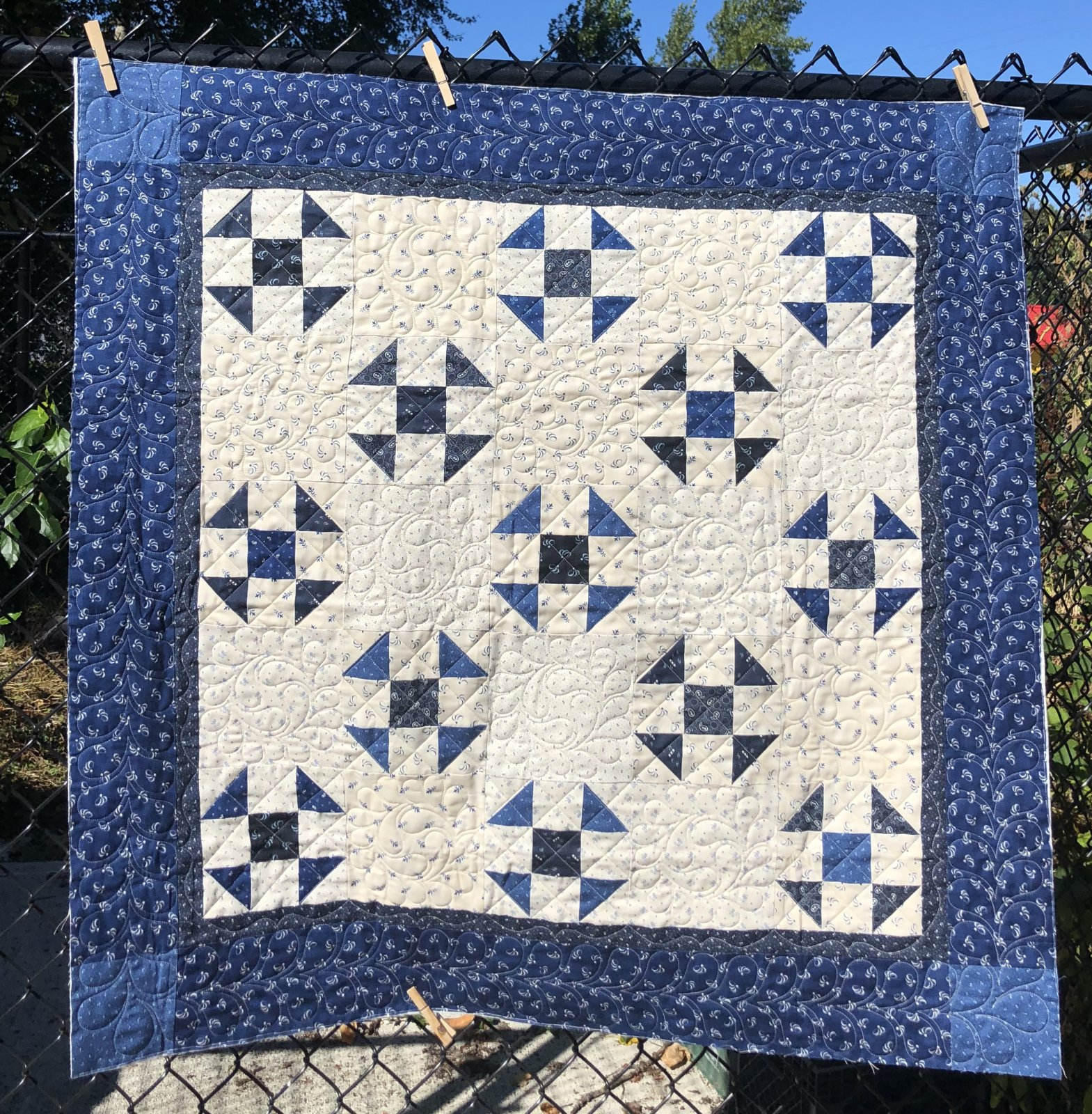September 2020 Quilt Kit Indigo Gatherings